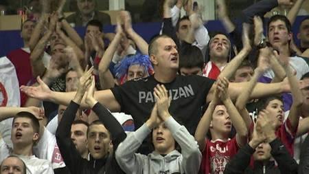 Serbiske håndballfans er kjente og fryktet. (Foto: TV 2/)