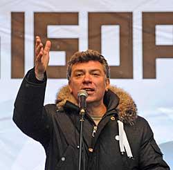 PESSIMIST: Boris Nemtsov.
