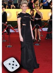 CUT OUT: Amber Heard strålte i sin vakre cut out-kjole signert   Zac Posen.