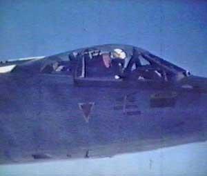 Starfighter-flyene var nærmest daglig på vingene for å avskjære   sovjetiske fly. (Foto: Luftforsvaret)