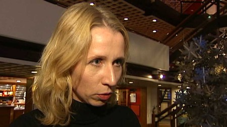 KAN IKKE LOVE LOVENDRING: Astri Aas-Hansen i Justisdepartementet. (Foto: TV 2)