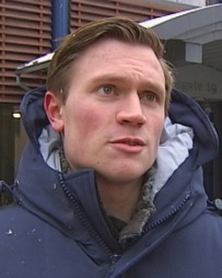 Studenten Kristoffer må leie i Oslo sammen med to venner.  (Foto: TV 2 )