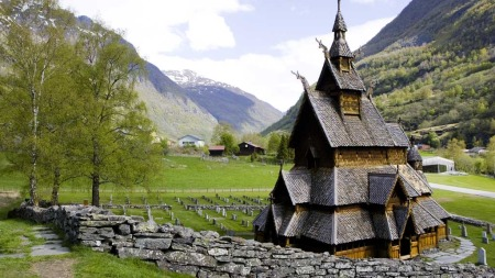 Borgund stavkirke (Foto: Illustrasjonsfoto)