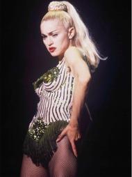 BLONDE AMBISJONER: Madonna under «Blonde Ambition Tour».