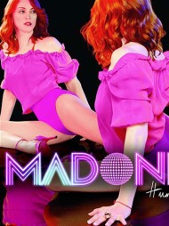 ROSA PÅ BALL: Madonna i rosa trikot på coveret av «Hung Up».