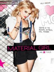 MATERIAL GIRL: Madonna og datteren Lourdes kleslinje heter «Material   Girl», og frontes av Kelly Osbourne.