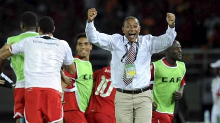 Gilson Paulo coach of Equatorial Guinea (Foto: Sydney Mahlangu/Pa Photos)