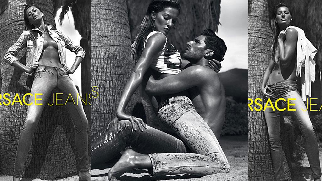 Gisele Bündchen fronter Versaces nye kampanje (Foto: Stella Pictures)
