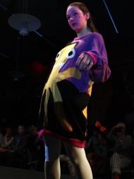 FAM IRVOLL: Motedesigner Fam Irvoll viste sin nyeste kolleksjon under Oslo Fashion Week.