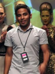SESONGENS DEBUTANT: Genaro Rivas fra Peru var sesongens debutant   under årets første Oslo Fashion Week.