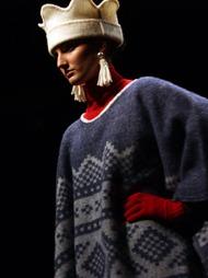 OSLO FASHION WEEK: Lillunn Design of Norway var en av designere   som viste sin kolleksjon under åpningen av Oslo Fashion Week mandag.