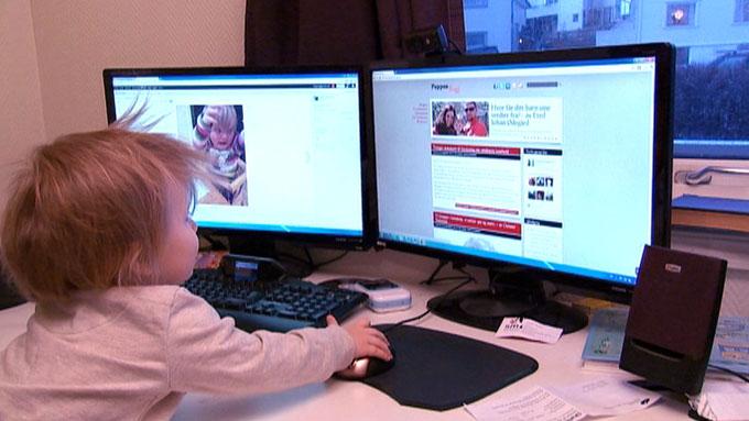 BLOGGTREND: Ifølge ekspertene er det pappabloggene som vil bli mest populære i tiden som kommer. (Foto: Lars Storheim/Truls Heilo)