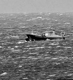 Stadhavet i full storm 26. januar. (Foto: Bjarne Eldevik)