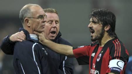 Redknapp, Jordan og Gattuso (Foto: OLIVIER MORIN/Afp)