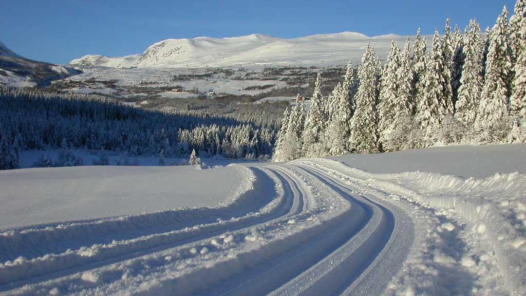 Vang kommune har tusenvis på tusenvis med kilometer med preparerte skiløyper.