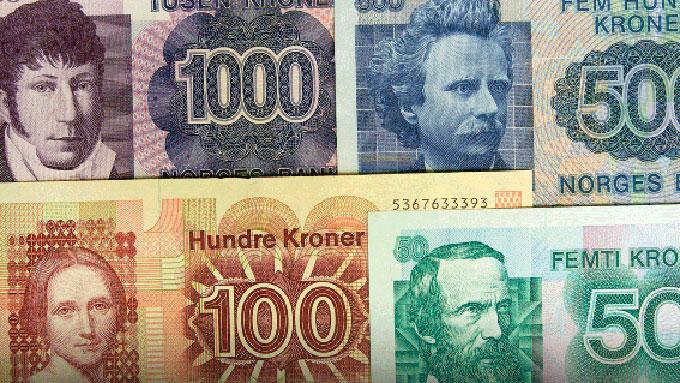 BLIR VERDILØSE: Norges Bank oppfordrer alle som har slike sedler  liggende til å veksle dem inn før fristen går ut 1. november 2012. (Foto:  Norges Bank)