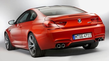 BMW M6 coupe bakfra