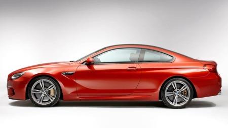 BMW M6 coupe rett fra siden