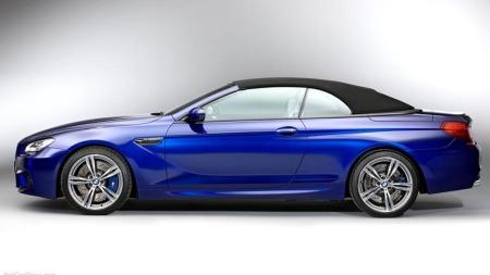 BMW M6 fra siden med tak