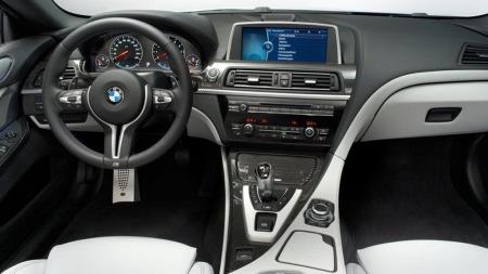 BMW M6 interiør