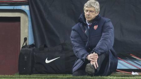 SJOKKERT: Arsene Wenger trodde nesten ikke det han så da Arsenal tapte 0-4 mot AC Milan. (Foto: Mike Egerton/Pa Photos)