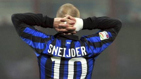 Wesley Sneijder (Foto: GIUSEPPE CACACE/Afp)