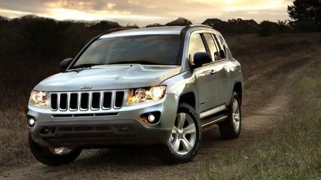 Jeep Compass sølv