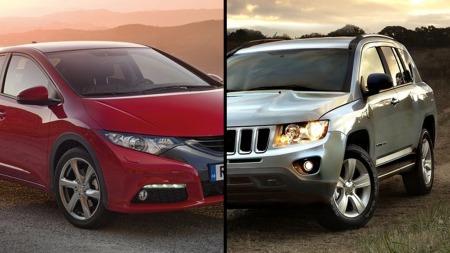 Den ene skuffer, den andre klarer seg godt  i Euro NCAPs siste krasjtest.