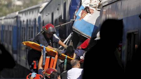 Once togstasjon, Buenos Aires Argentina (Foto: ENRIQUE MARCARIAN/Reuters)