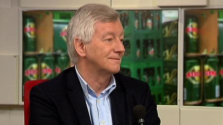 IKKE FORNØYD: Direktør for handel i Virke, Thomas Angell.  (Foto: TV 2)