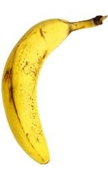 Når bananen ser slik ut, passer   den perfekt i muffins og bakst. Godt modne bananer er nemlig ekstra søte.   (Foto: Illustrasjonsfoto)