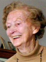 DREPT: Hilda Feste (98) (Foto: Bergensavisen)