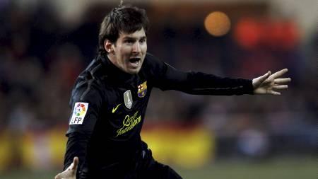 Lionel Messi (Foto: JUAN MEDINA/Reuters)