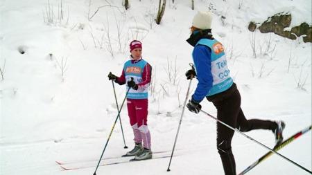Skikurs (Foto: Stein Stie)