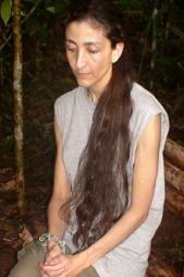 Ingrid Betancourt satt som gissel i jungelen i Colombia i seks år.  (Foto: SCANPIX)