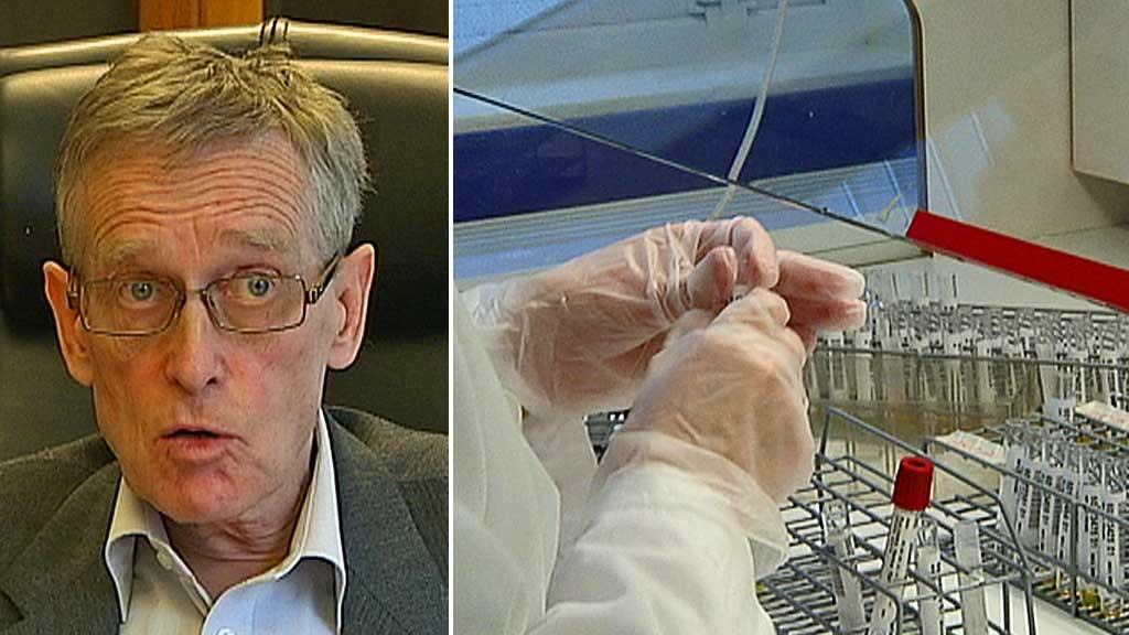 GRANSKER KREFTTEST: Statens helsetilsyn skal granske de fem sykehusene som har brukt testen mot livmorhalskreft.  (Foto: Montasje)