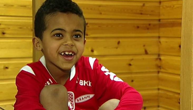 KASTES UT: Nathan (6) og Familien har fått endelig avslag og må være ute av landet 16. mai.  (Foto: TV 2)