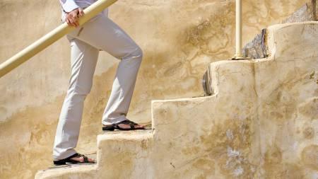 DAGENS ØVELSE: Å gå i trapper er effektiv trening av rumpe og lår. (Foto: Illustrasjonsbilde/Colourbox/)