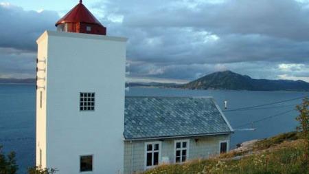 Agdenes fyr i Sør-Trøndelag.