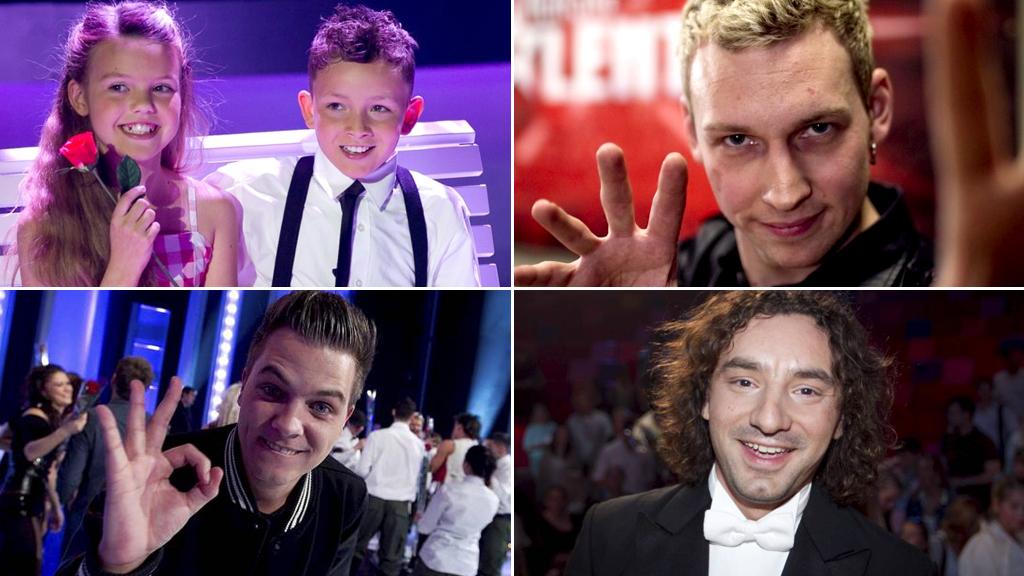 Tidligere Norske Talenter-deltakere (Foto: Thomas Reisæter/TV 2)