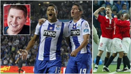 o classico Benfica Porto Karadas Wikestad