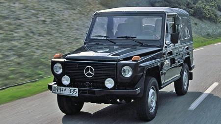 Geländewagen var ment minst like mye som militært arbeidsredskap som sivilt kjøretøy da den kom i 1979, men fikk raskt en enorm betydning også som statussymbol og