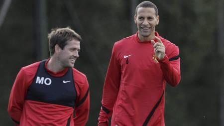 LYKKES: Michael Owen og Rio Ferdinand endte på listen over de 20 største talentene i 1996. (Foto: JON SUPER/Ap)