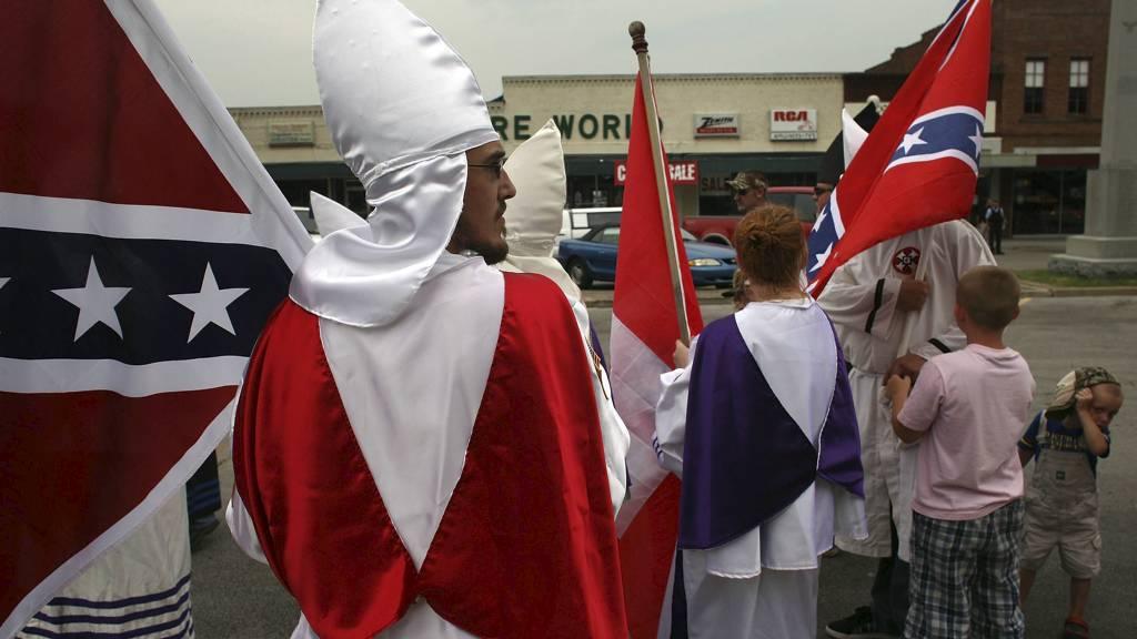 Ku Klux Klan (Foto: SPENCER PLATT/AFP)