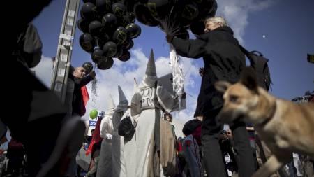 Ku Klux Klan (Foto: Oded Balilty/Ap)