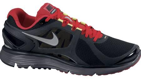 FOR HÆLLØPERE: Nike Lunareclipse + 2 passer best for hælløpere som vil ha en godt dempet modell. (Foto: Löplabbet/)