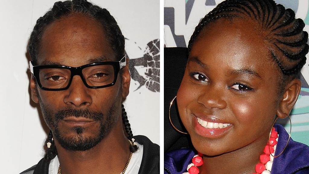 FAR OG DATTER: Snoop Dogg og datteren Cori B lager musikk sammen.
