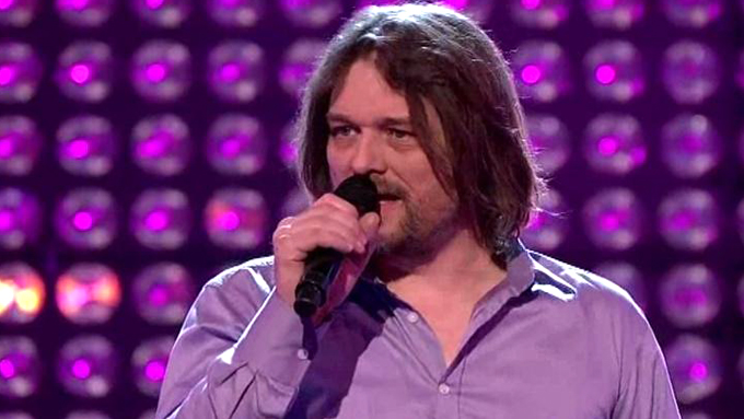Knut Arve Eilefsen i The Voice (Foto: TV 2)