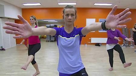ULIKE AKTIVITETER: Bhene ble testet under ulike aktiviteter som løping, ski, ballspill og aerobic. (Foto: Nina Kausland/TV 2/)