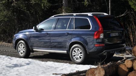 Umiskjennelig Volvo XC90.
